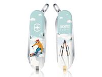 瑞士军刀-滑雪主题