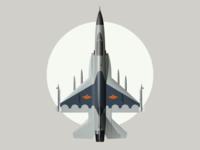 FC-1  枭龙战机