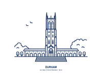 100 Days of Vector Illustration No.10 - Durham