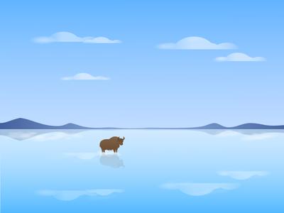 19 Salt Lake & Yak pure yak salt lake