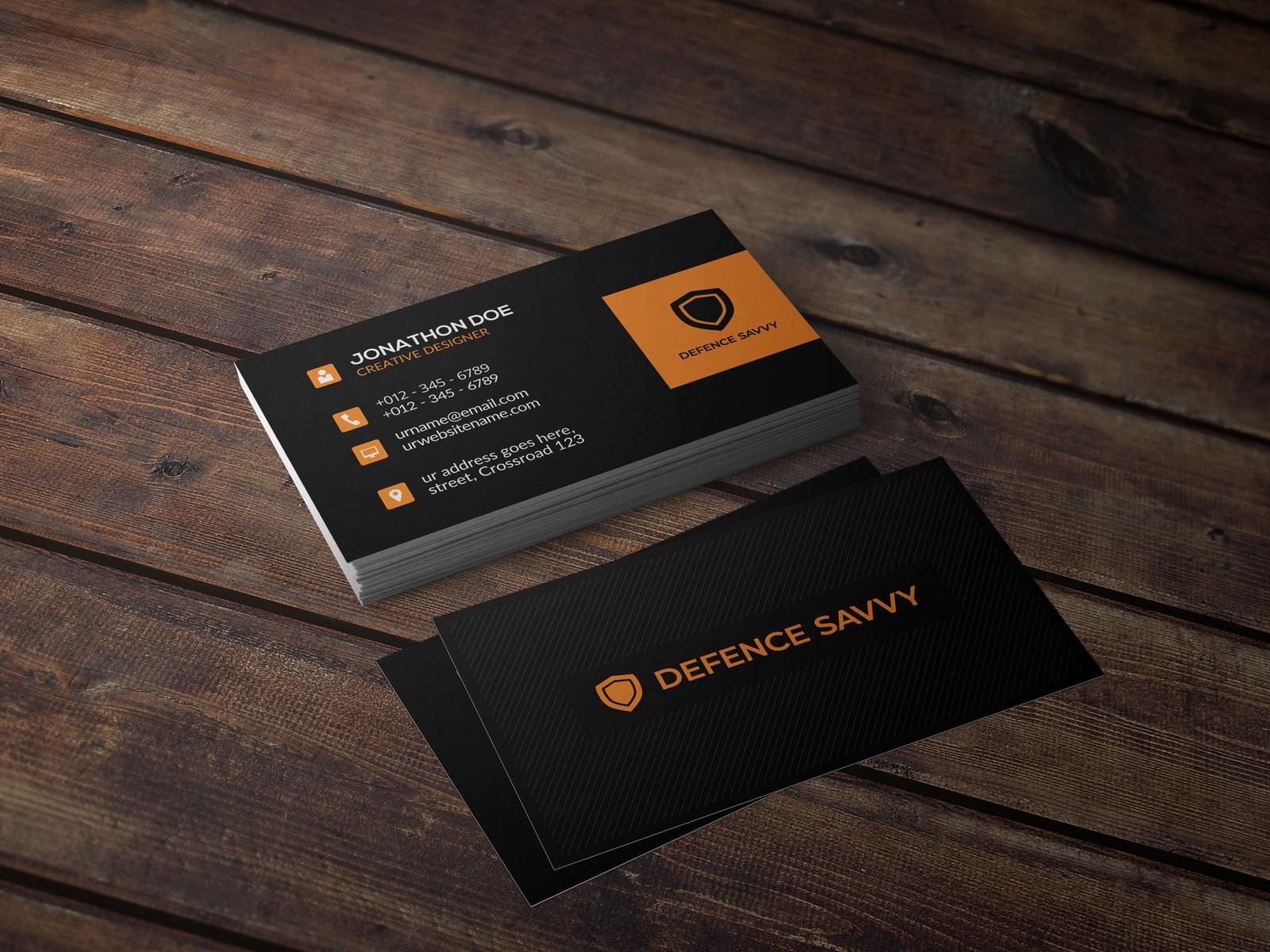 simple business card design ideas premium business cards