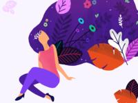 Sanchitsharma girl in dreams   illustration   02