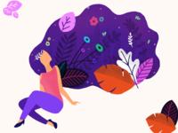 Sanchitsharma girl in dreams   illustration   01
