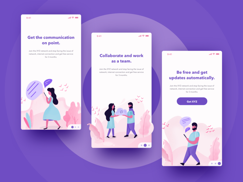 Concept UI based on day 4-5-6 team concept ui onboarding app ios