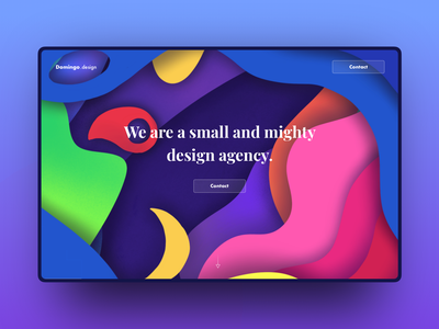 Day 11 - Concept UI using the depth illustration domingo illustration agency design ui app web gradient