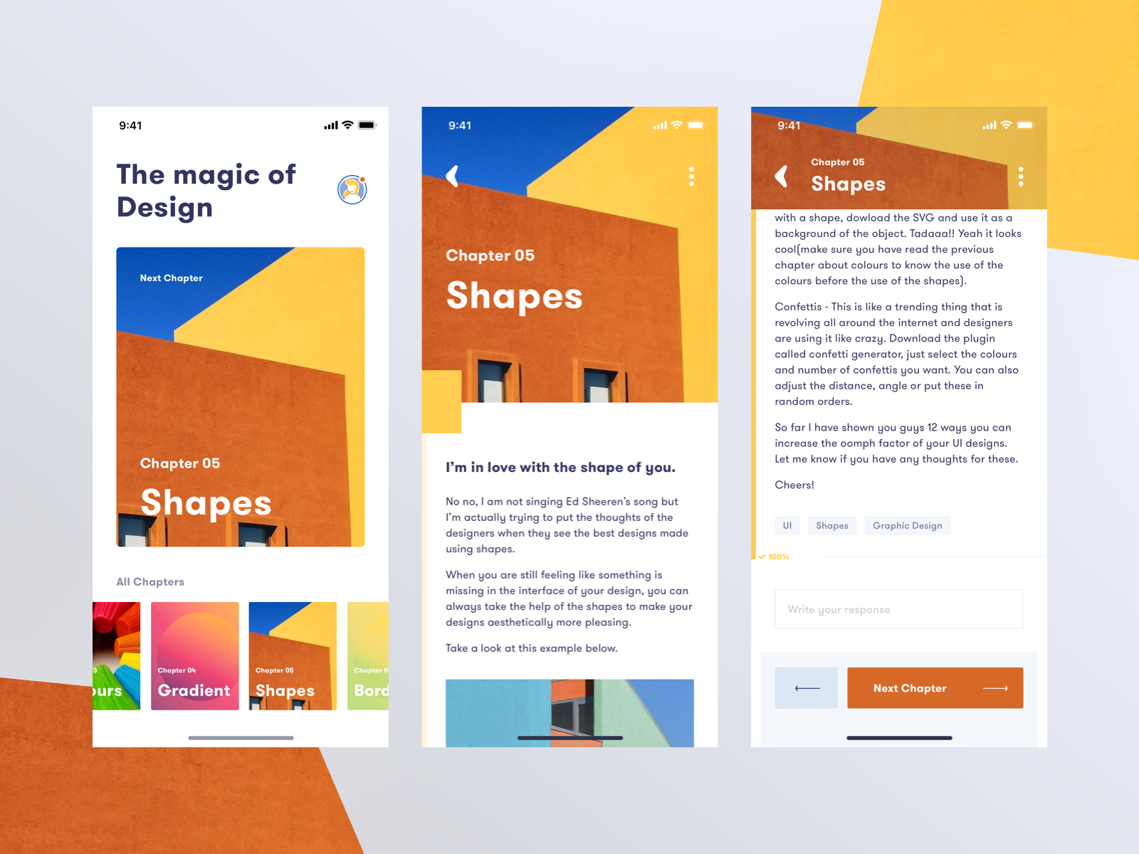 Colours apptutorial  bysanchitsharma sanshizm dribbble2