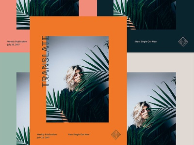 System Exploration for Stereo Latinx stereo lx colors minimal type layout photo poster
