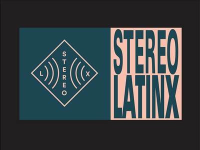 Stereo Latinx doodles stereo latino music video sticker tag
