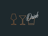 Beverage Icons for a killed concept