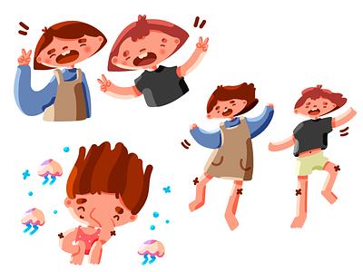 Life is all about having fun <3 havingfun fun friends character digitalpainting photoshop digitalart character design illustration