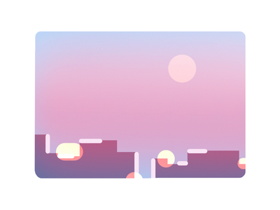 SunriseSunset 💫 citysights city photoshop digitalpainting digitalart illustration
