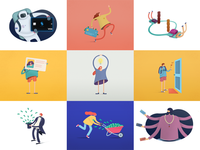 Space App Characters