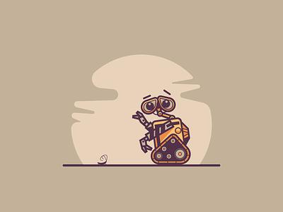 Wall-E cockroach funny robot disney pixar wall-e