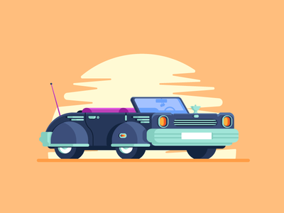 Car Test #1 wheel tire simple awesome sunrise sunset brazil car graphic design illustration