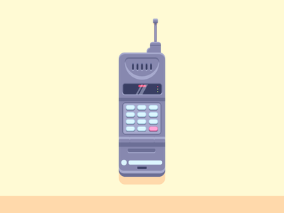 Talky Talky! mobile antena motorola flip phone phone graphic design illustration