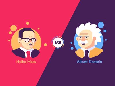 Maas VS Einstein