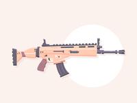 Lock n' Load : Fortnite SCAR