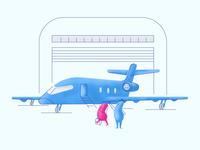 Business Airplane