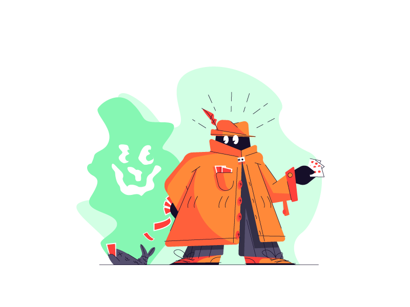 Smelly gambler