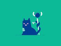 Zombie Feline