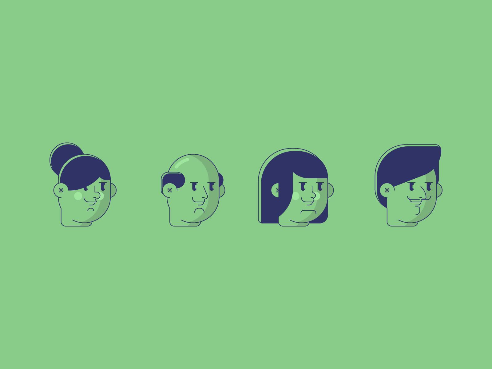 Faces 4x
