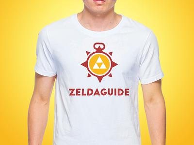 ZELDA GUIDE legend of zelda link zelda compass badge illustration vector dailylogochallenge 50dayschallenge design logo branding brand listen hey