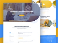 #Exploration | E-Teach Landing page