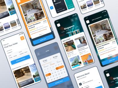 Hotel Booking UI Exploration