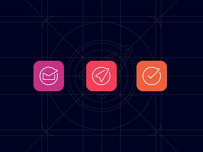 IB - App Icon Design System branding design systems icon logo