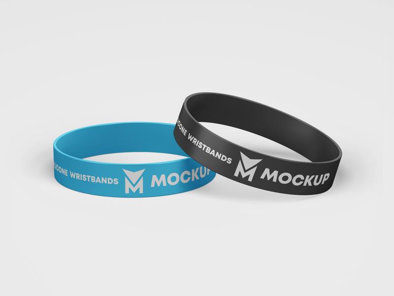 Wristbands Free Mockup psd templates template freebies freebie sportswear sports sport accessories accessory wristband branding design product mockups mockup free