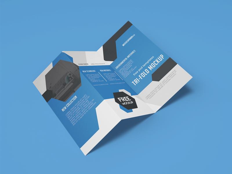 Free Tri Fold Brochure Mockup tri fold brochure trifold mockup tri-fold brochure tri-fold trifold brochure trifold brochure mockup brochure design mockups mockup free
