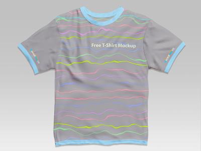 Free T-Shirt Mockup PSD Template free psd freebie men t-shirt mockup template free mockup clothes t-shirt mockup t-shirt apparel mockup design product mockups mockup free