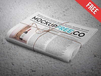 Newspaper / Newsletter Free PSD Mockup by Alexandr Pidvalny - Dribbble