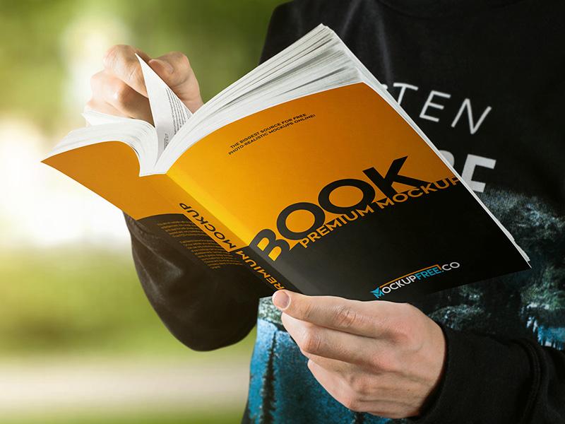 Paperback Book 10 Free Psd Mockups By Mockupfree On Dribbble