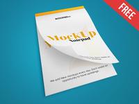Notepad – Free PSD Mockup