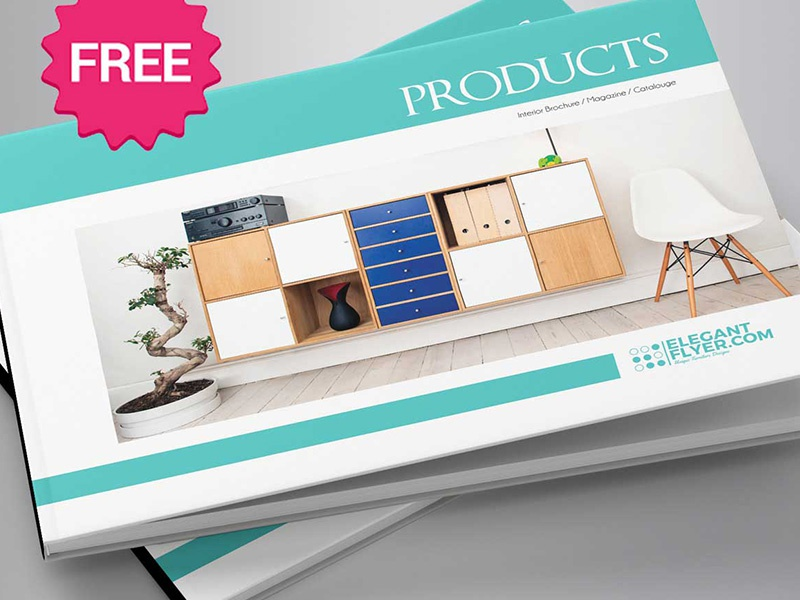 free a5 product catalog brochure indd template by mockupfree