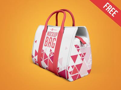3 Free Bag Mock-ups in PSD