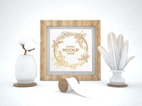 Frame – Free PSD Mockup