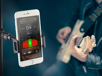 Chromatic Guitar Tuner Gismart