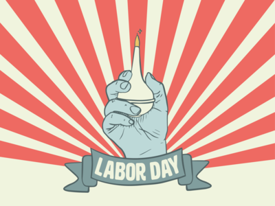 Tileworks Labor Day Graphic