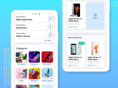 FindSimilar - Mobile product ux ui shopping ecommerce mobile