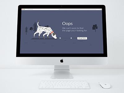 Daily ui 404 page 008 daily ui 008 dailyui dailylogochallenge dog error page error 404 error vector daily ui ui 404 page