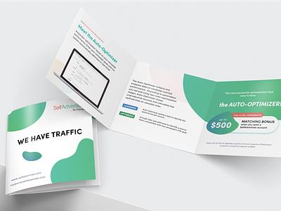 SelfAdvertiser brochure branding high tech marketing print brochure design brochure