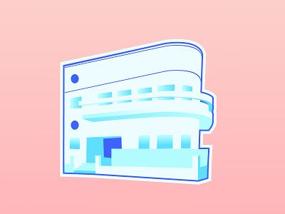 Tel Aviv Bauhaus bauhaus100 house iconic architecture vector illustration tel aviv
