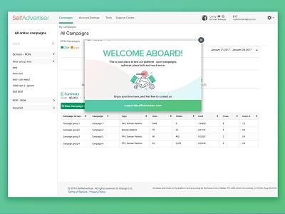 Welcome pop welcome pop vector desktopapp desktop high tech ui platform