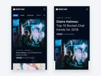 Rocket.Chat Blog Mobile