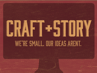 Craft+Story Banner