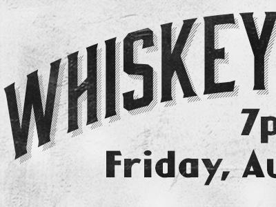 Poker Announcement - August whiskey poker bourbon rocket man