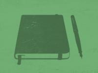 Moleskine and Fountain Pen