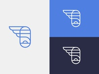 Simple Flying - Unused logo proposal